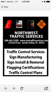 traffic signs manufacturing